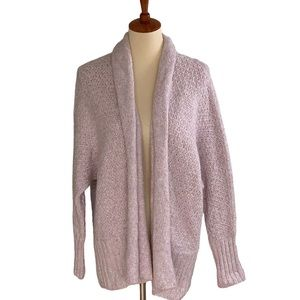 NWT Angel of the North Violet Cozy Cardigan Small
